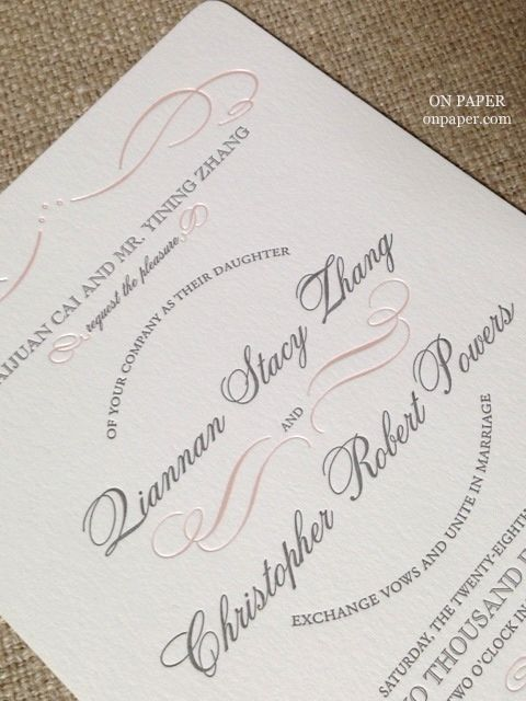 144 Best Wedding Invitation Faves Images On Pinterest Knots