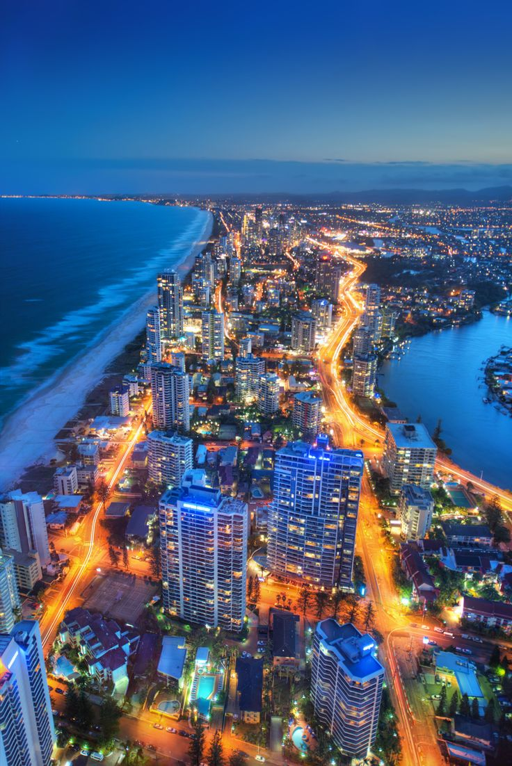 Surfer's Paradise on the Gold Coast in South-East Queensland, Australia