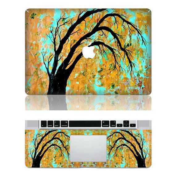 Beautiful tree  Macbook Protective Decals Stickers by AwesomeDecal, $16.50