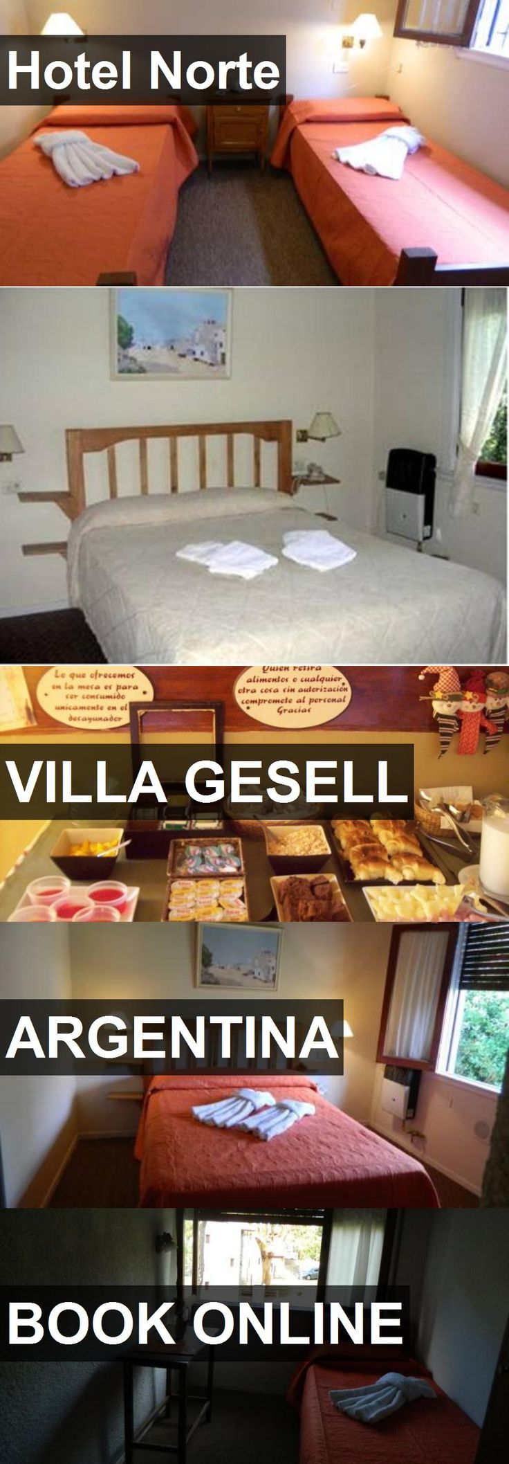 Hotel Hotel Norte in Villa Gesell, Argentina. For more information, photos, reviews and best prices please follow the link. #Argentina #VillaGesell #HotelNorte #hotel #travel #vacation