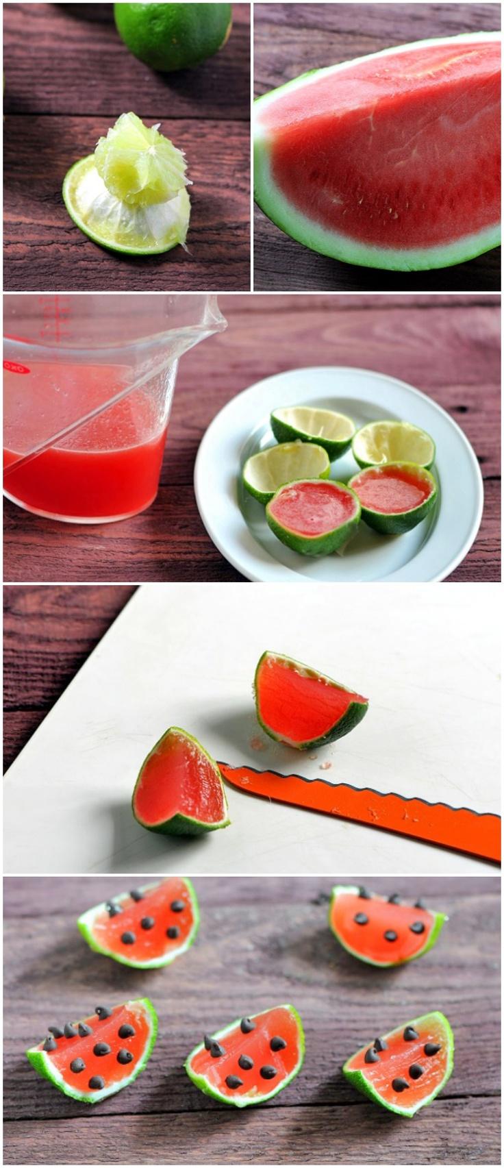 Watermelon Margarita Jelly Shots