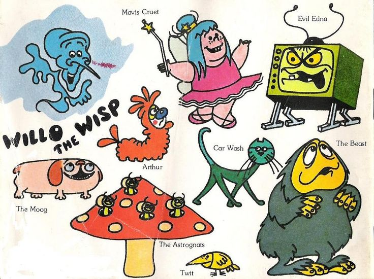 Will-O'-The-Wisp Characters, 1981