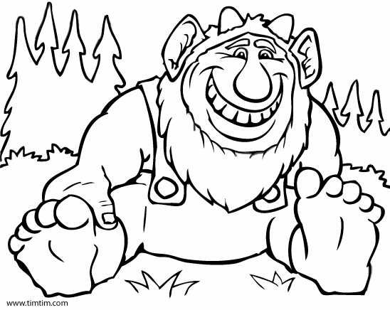 trolls colouring pages (page 3) | troll art | pinterest