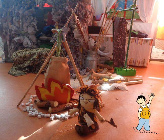 Ideas para trabajar el proyecto escolar la prehistoria.
