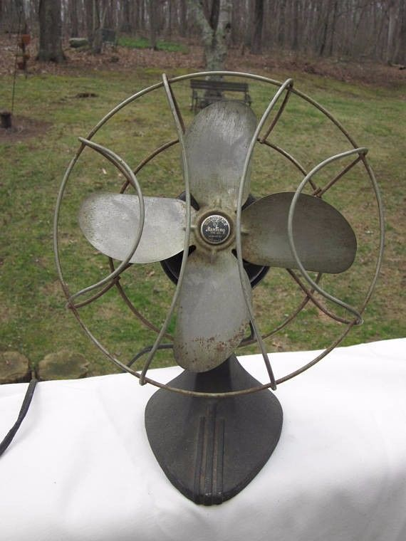 Vintage 1930's Chicago Electric MFG. Co Sterling Electric Desk Fan, Works Great!  | eBay