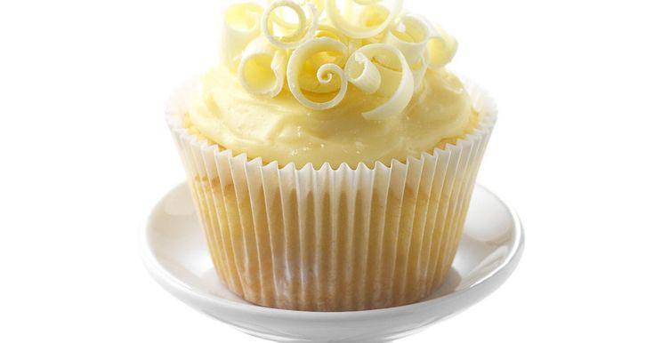 Vegetarian White Chocolate Cupcakes Recipe