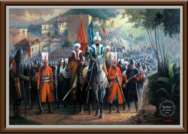 Fatih Sultan Mehmet, Trabzon'a girerken, temsili