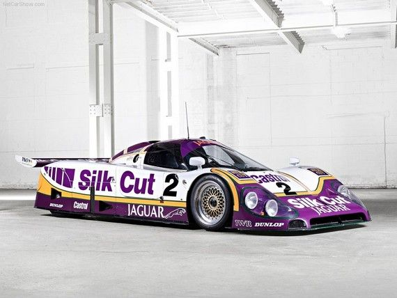 Never has the colour purple been so acceptable on the flanks of a racing car – especially when the Big Cat won at Le Mans in 1988 and 1990.