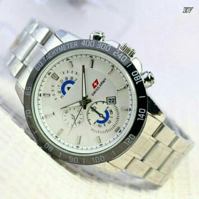 Saya menjual Jam tangan swiss army / jam rantai / jam pria murah seharga Rp125.000. Dapatkan produk ini hanya di Shopee! https://shopee.co.id/fabianwatchstore/148990082 #ShopeeID