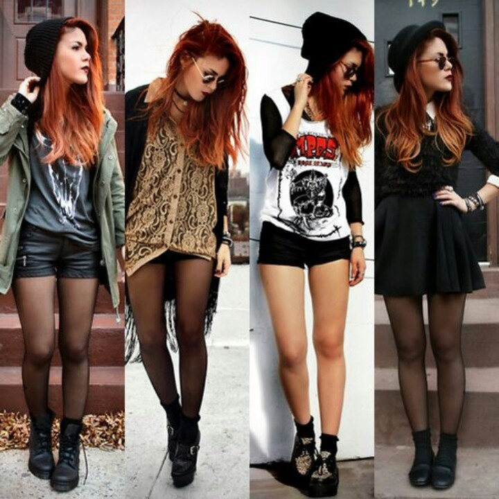 ... Edgy Style, Collectiondress Casualoutfit, Style Rocker, Skater Dresses