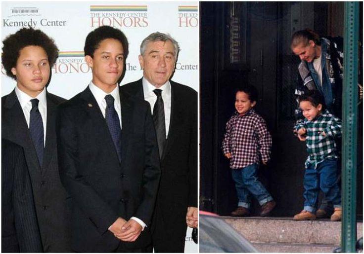 Award winning actor and director Robert De Niro and his ...