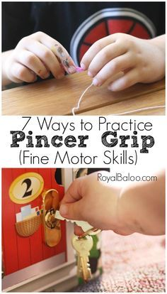 Fun Ways to Get Kids to Practice the pincer grip! Fine motor skills can be hard to perfect but these fun tips will help!