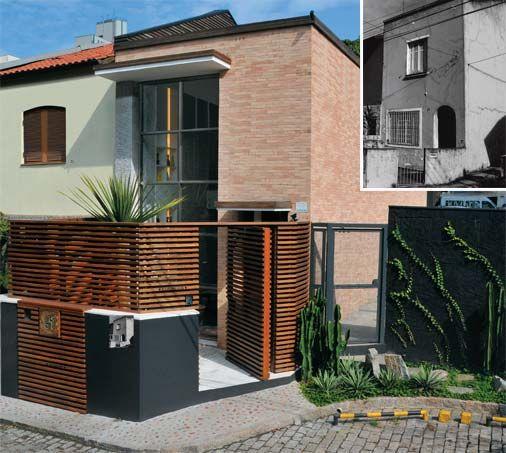 10 tipos de fachada para sobrados