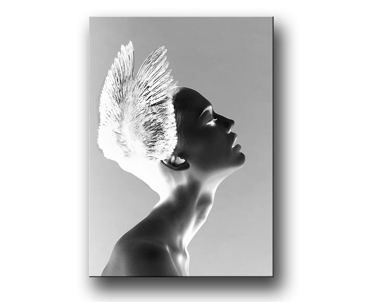 """Wings of Love"" Fashion Posters / Prints / canvastavla."