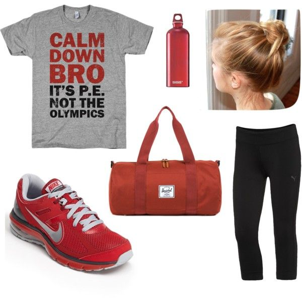 """""""Gym Clothes for Real Women"""" by Sarah Duncan"""