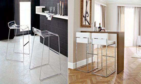 Барные стулья для кухни, 44 фото. Красивые интерьеры и дизайн