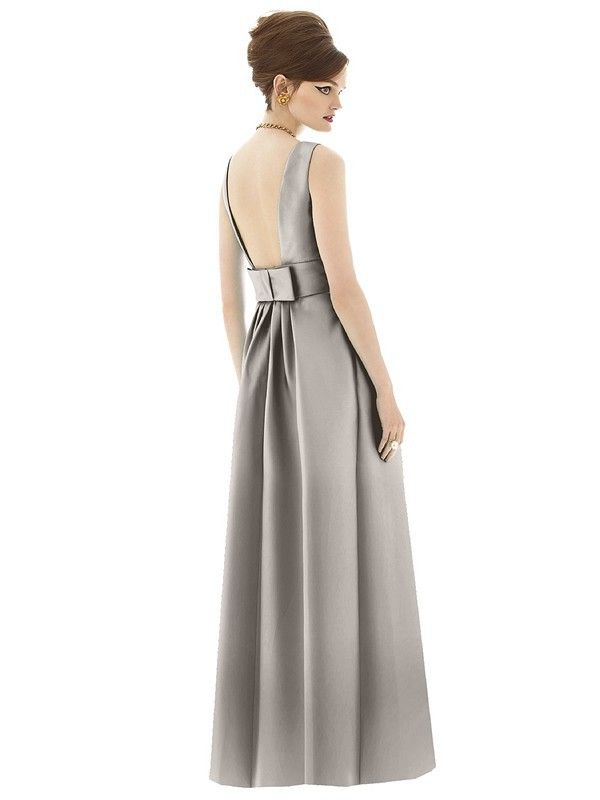 Alfred Sung Bridesmaid Dress Style - D661 | Blush Bridal