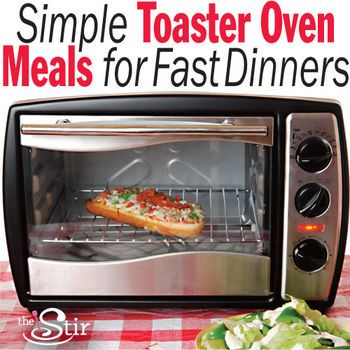 These Easy Toaster Oven recipes deliver tons of flavor without too much effort. Call it a dining win-win. http://thestir.cafemom.com/food_party/186559/10_toaster_oven_meals_made