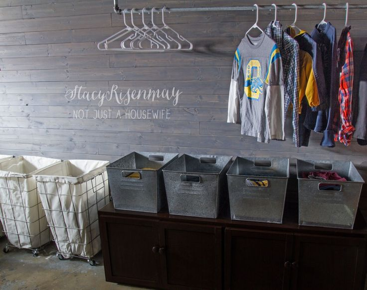 31 best laundry room organization images on pinterest for Large family laundry