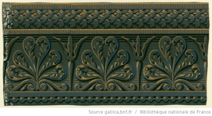 47 best bordure frises papier peint zuber vers 1800. Black Bedroom Furniture Sets. Home Design Ideas