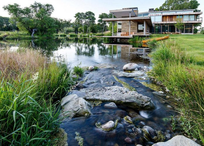 Big Timber Riverside by Hughes Umbanhowar Architects could be your dream ranch - CAANdesign