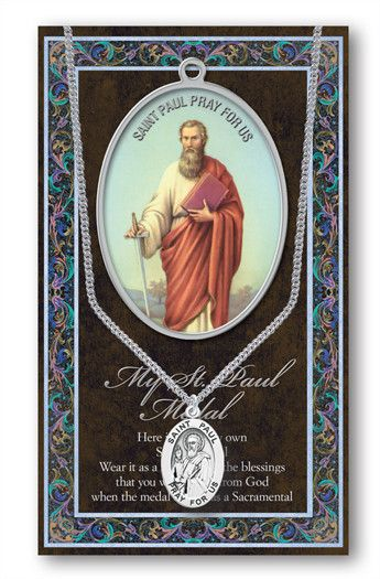 St. Paul Medal Picture Folder by Hirten | Catholic Shopping .com