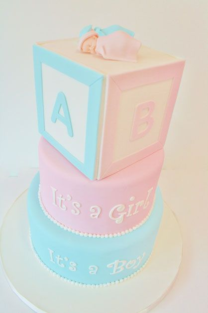 baby shower cakes nj twins blocks custom cakes