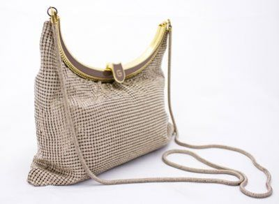 Oyster Mesh Handbag From Glomesh Australia