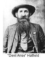 devil anse hatfield...