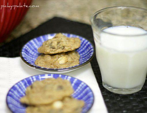 Caramel Apple N' Chocolate Chip Cookies