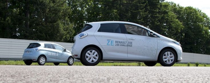 Renault ZOE claims 24-hour distance record for a production EV