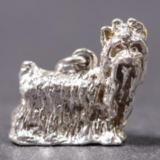 Yorkshire Terrier silver PENDANT