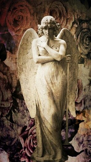 Angel + statue + photo + art 196