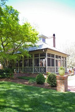17 best images about screened porches front porches on for Detached screened porch