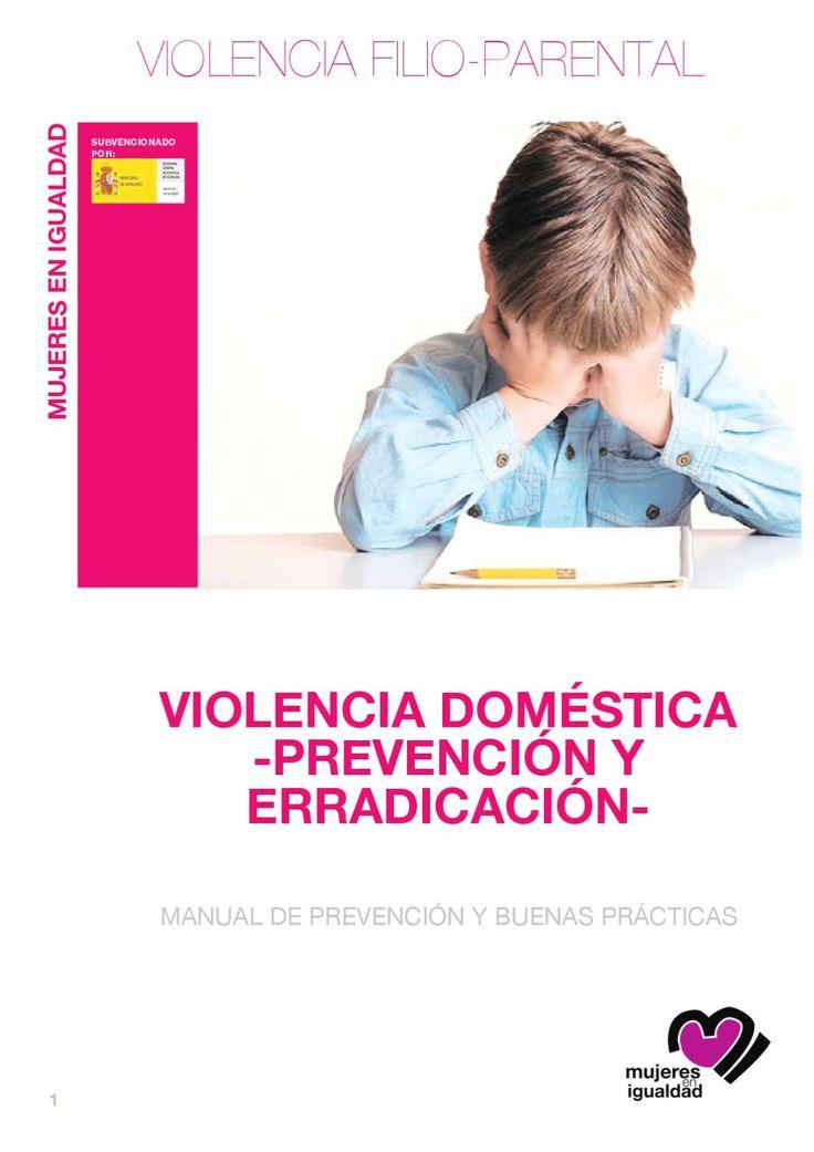 Violencia Filio-parental  Prevención violencia intrafamiliar