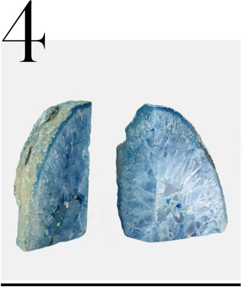 Philmore-USA-Pair of Agate bookends-blue-home-accessories-top-ten