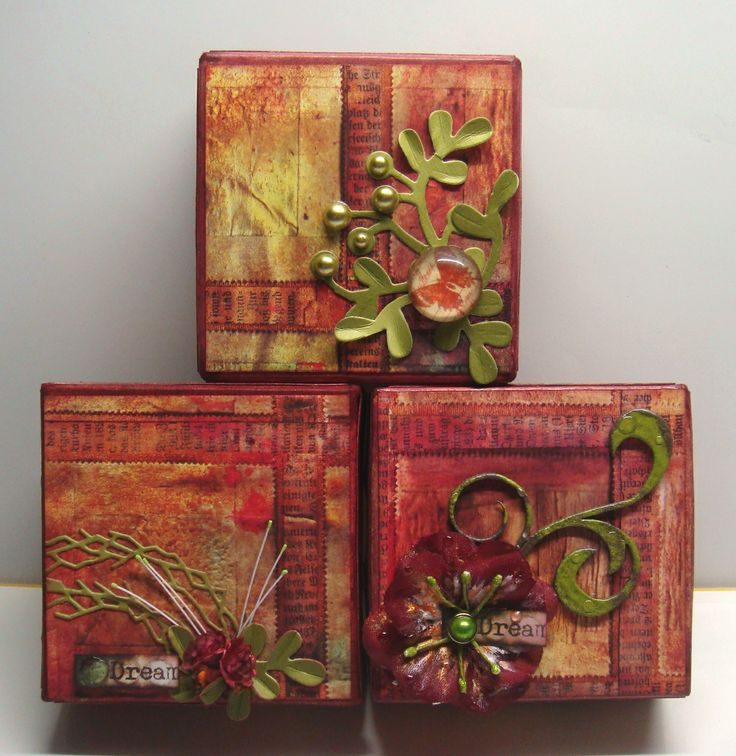 Recycled gift boxes...
