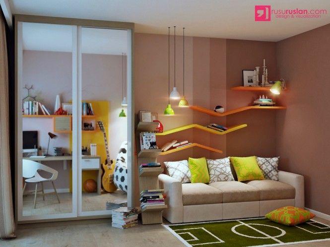 75 best Faszination Kinderzimmer images on Pinterest Child room - babyzimmer orange grn