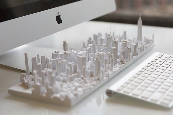 Own an Entire City With These 3D-Printed Models - Curbed Maybe something for 3D Printer Chat?