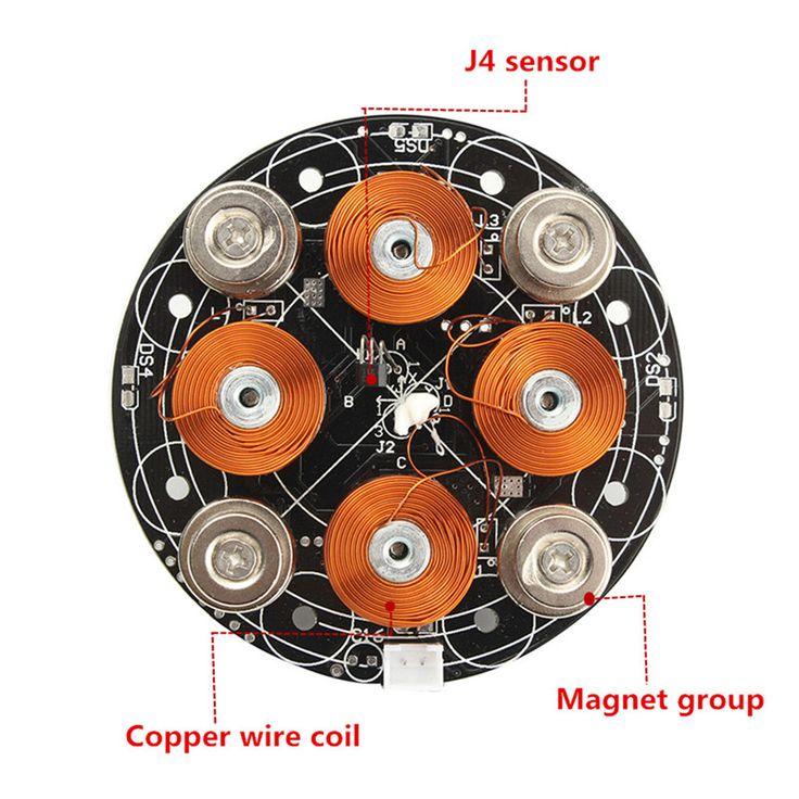 DY003 Magnetic Levitation Module DIY Maglev Furnishing Articles Kit
