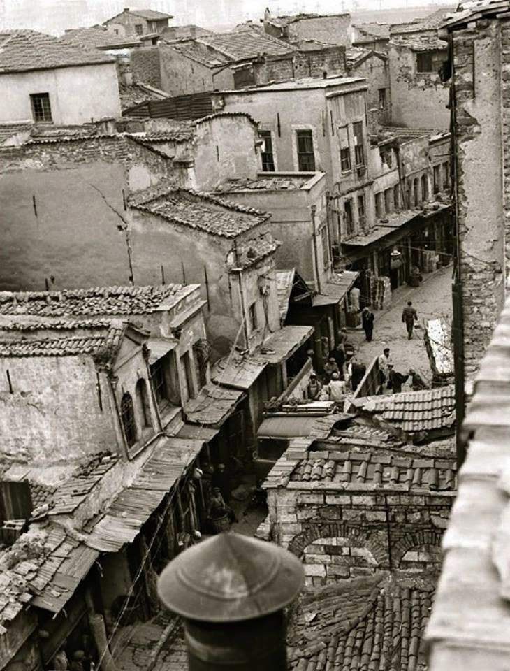 Tahtakale Hasırcılar Caddesi / 1960