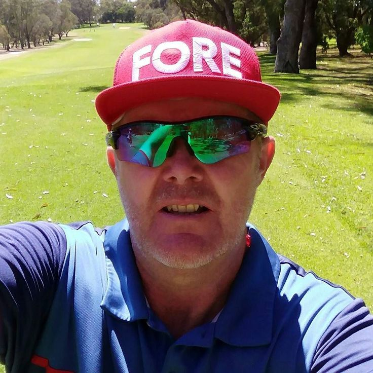 Can possibly think about changing hats as hit it a little better today  #golf #caddie #hatdescribesmygame #birdsofcondor #perth #westernaustralia
