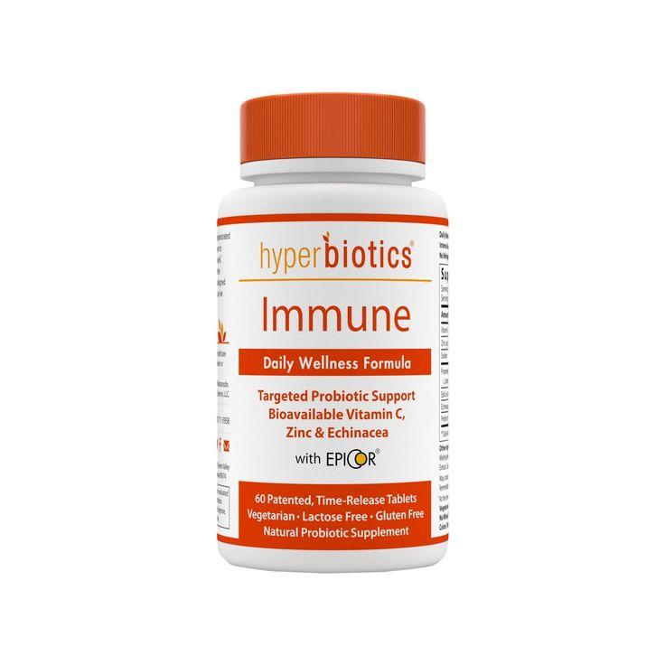 Hyperbiotics 60ct Immune Probiotic Tablets