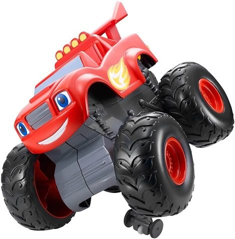 Get ready to start your engines with the Fisher-price Nickelodeon Blaze, this monster machines toyperforms super stunts and is always ready to race. The mon