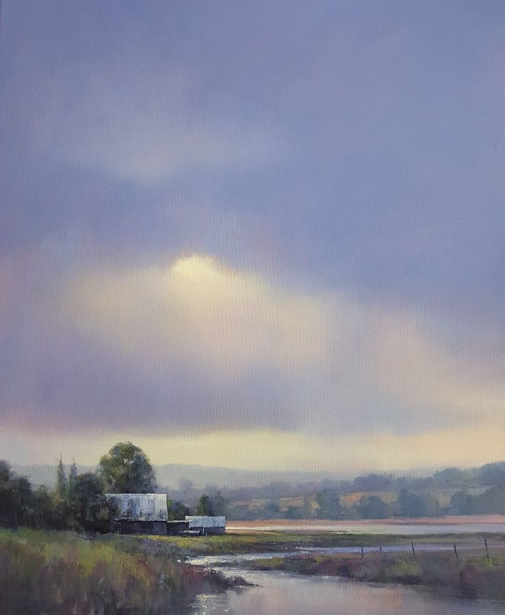 Bitou Afternoon. Oil on Canvas, 60x76cm. Ignatius Marx.