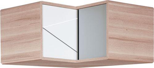 Nadstawka szafy narożnej (Bialo/czarno/szary) - Szafy i nadstawki - Typy mebli - Meble VOX