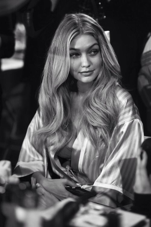 Gigi Hadid at the vs fashion show 2015
