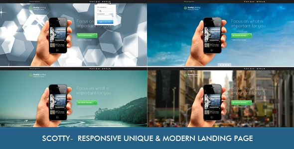 Scotty - Responsive Landing Page