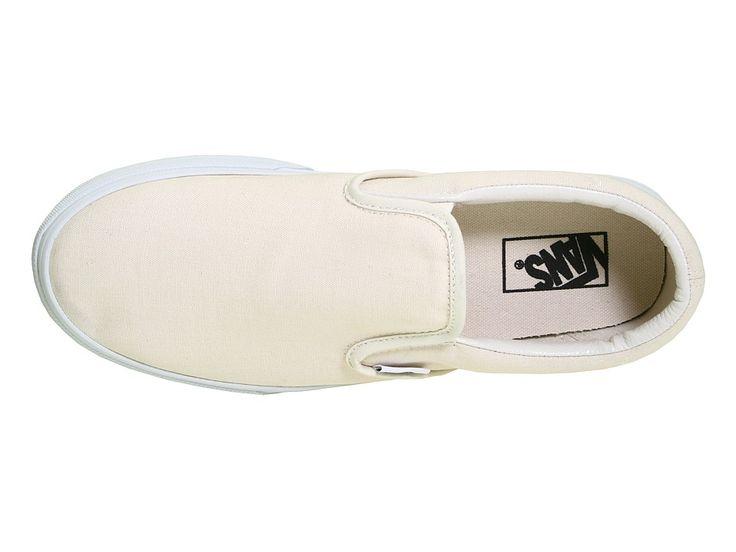 Vans Classic Slip-Ontm Core Classics Shoes White (Canvas)