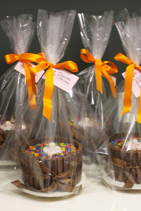 bolo #kitkat de #pascoa embalados para presente! #easter #cake